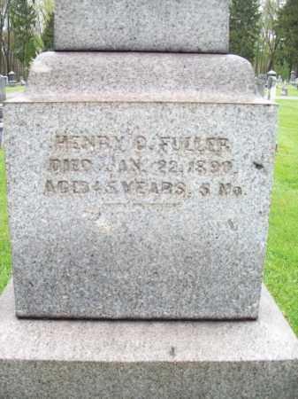 FULLER, HENRY D - Trumbull County, Ohio | HENRY D FULLER - Ohio Gravestone Photos