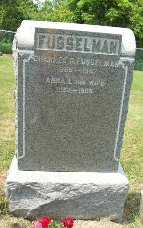 WILSON FUSSELMAN, ANNA L. - Trumbull County, Ohio | ANNA L. WILSON FUSSELMAN - Ohio Gravestone Photos