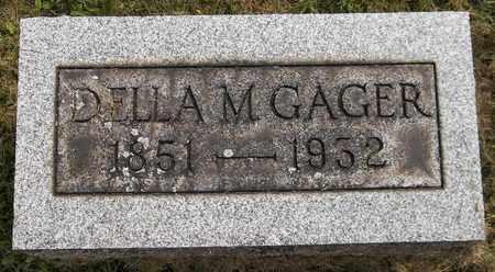 GAGER, DELLA M. - Trumbull County, Ohio | DELLA M. GAGER - Ohio Gravestone Photos