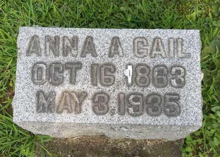 GAIL, ANNA A. - Trumbull County, Ohio | ANNA A. GAIL - Ohio Gravestone Photos