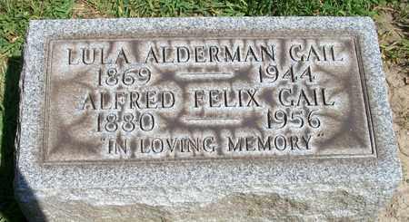 ALDERMAN GAIL, LULA - Trumbull County, Ohio | LULA ALDERMAN GAIL - Ohio Gravestone Photos