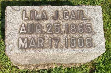 GAIL, LILA J. - Trumbull County, Ohio | LILA J. GAIL - Ohio Gravestone Photos