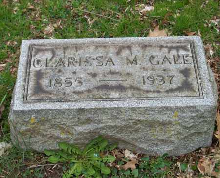 GALE, CLARISSA M. - Trumbull County, Ohio | CLARISSA M. GALE - Ohio Gravestone Photos