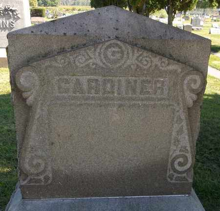 GARDINER, LOU - Trumbull County, Ohio | LOU GARDINER - Ohio Gravestone Photos