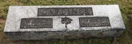 GARDINER, ALICE L. - Trumbull County, Ohio | ALICE L. GARDINER - Ohio Gravestone Photos
