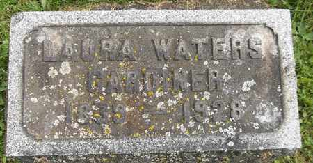 WATERS GARDINER, LAURA - Trumbull County, Ohio | LAURA WATERS GARDINER - Ohio Gravestone Photos