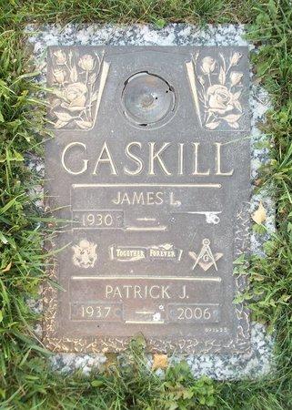 GASKILL, PATRICK J. - Trumbull County, Ohio   PATRICK J. GASKILL - Ohio Gravestone Photos