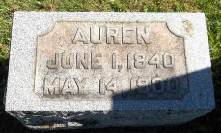 GATES, AUREN - Trumbull County, Ohio | AUREN GATES - Ohio Gravestone Photos