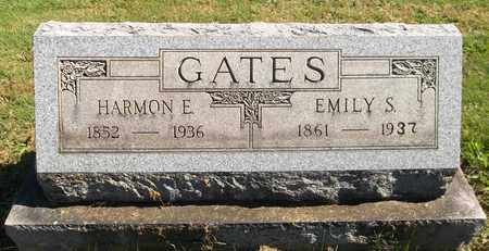 GATES, EMILY S. - Trumbull County, Ohio | EMILY S. GATES - Ohio Gravestone Photos