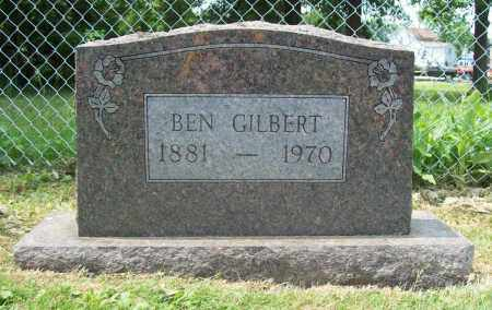 GILBERT, BEN - Trumbull County, Ohio | BEN GILBERT - Ohio Gravestone Photos