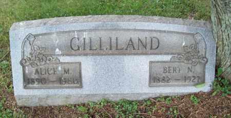 GILLILAND, ALICE MAY - Trumbull County, Ohio | ALICE MAY GILLILAND - Ohio Gravestone Photos