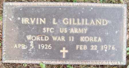 GILLILAND, IRVIN L. - Trumbull County, Ohio | IRVIN L. GILLILAND - Ohio Gravestone Photos