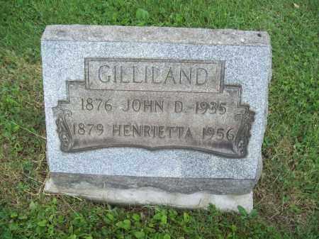 GILLILAND, HENRIETTA - Trumbull County, Ohio | HENRIETTA GILLILAND - Ohio Gravestone Photos