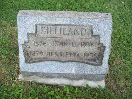 GILLILAND, JOHN D. - Trumbull County, Ohio | JOHN D. GILLILAND - Ohio Gravestone Photos