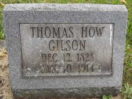 GILSON, THOMAS HOW - Trumbull County, Ohio | THOMAS HOW GILSON - Ohio Gravestone Photos