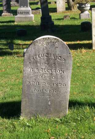 GLEASON, SELUCIA C. P. - Trumbull County, Ohio | SELUCIA C. P. GLEASON - Ohio Gravestone Photos