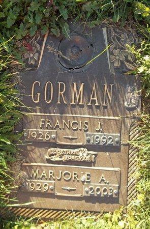 GORMAN, MARJORIE A. - Trumbull County, Ohio   MARJORIE A. GORMAN - Ohio Gravestone Photos
