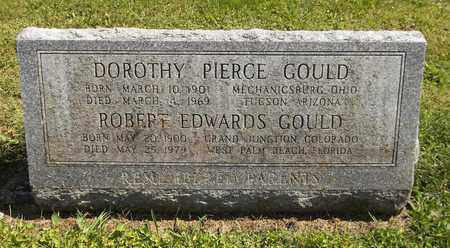 PIERCE GOULD, DOROTHY - Trumbull County, Ohio | DOROTHY PIERCE GOULD - Ohio Gravestone Photos