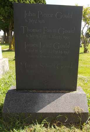 GOULD, THOMAS FAUSS - Trumbull County, Ohio | THOMAS FAUSS GOULD - Ohio Gravestone Photos