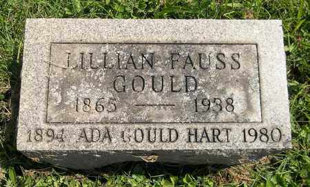 FAUSS GOULD, LILLIAN - Trumbull County, Ohio | LILLIAN FAUSS GOULD - Ohio Gravestone Photos