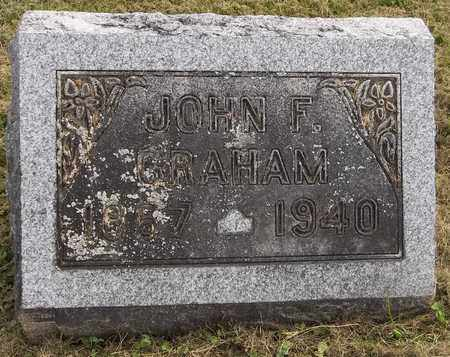 GRAHAM, JOHN F. - Trumbull County, Ohio | JOHN F. GRAHAM - Ohio Gravestone Photos
