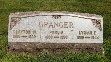 GRANGER, PERLIA - Trumbull County, Ohio | PERLIA GRANGER - Ohio Gravestone Photos