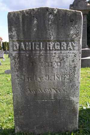 GRAY, DANIEL R. - Trumbull County, Ohio | DANIEL R. GRAY - Ohio Gravestone Photos