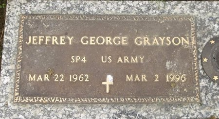 GRAYSON, JEFFREY GEORGE - Trumbull County, Ohio | JEFFREY GEORGE GRAYSON - Ohio Gravestone Photos