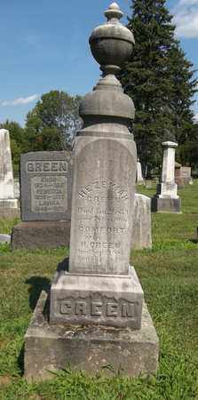 GREEN, COMFORT - Trumbull County, Ohio | COMFORT GREEN - Ohio Gravestone Photos