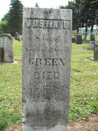 GREEN, JUSTIN L. - Trumbull County, Ohio | JUSTIN L. GREEN - Ohio Gravestone Photos