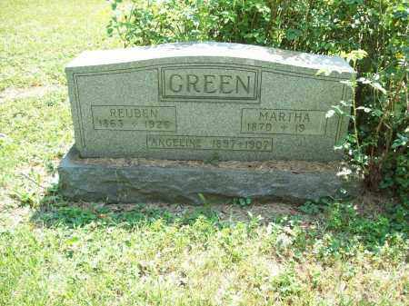 GREEN, ANGELINE - Trumbull County, Ohio | ANGELINE GREEN - Ohio Gravestone Photos