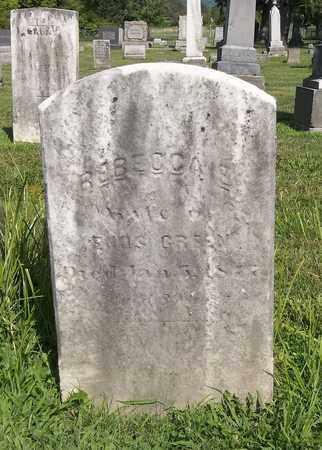 GREEN, REBECCA - Trumbull County, Ohio | REBECCA GREEN - Ohio Gravestone Photos