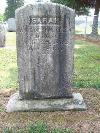 GREEN, SARAH - Trumbull County, Ohio | SARAH GREEN - Ohio Gravestone Photos