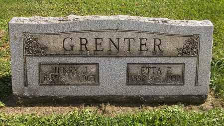 GRENTER, ETTA E. - Trumbull County, Ohio | ETTA E. GRENTER - Ohio Gravestone Photos