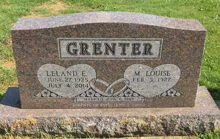 GRENTER, M. LOUISE - Trumbull County, Ohio | M. LOUISE GRENTER - Ohio Gravestone Photos