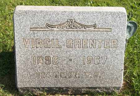 GRENTER, VIRGIL - Trumbull County, Ohio | VIRGIL GRENTER - Ohio Gravestone Photos