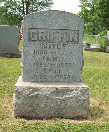 GRIFFIN, BERT EUGENE - Trumbull County, Ohio | BERT EUGENE GRIFFIN - Ohio Gravestone Photos