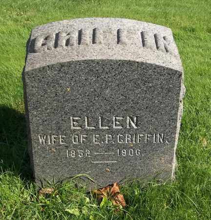 GRIFFIN, ELLEN - Trumbull County, Ohio | ELLEN GRIFFIN - Ohio Gravestone Photos