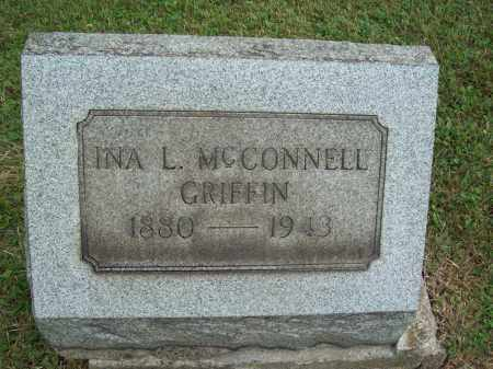 MCCONNELL GRIFFIN, INA L. - Trumbull County, Ohio | INA L. MCCONNELL GRIFFIN - Ohio Gravestone Photos