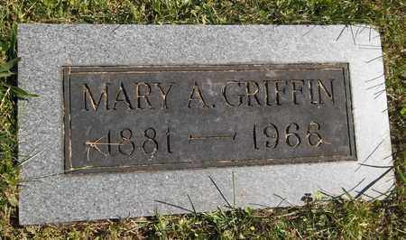 GRIFFIN, MARY A. - Trumbull County, Ohio | MARY A. GRIFFIN - Ohio Gravestone Photos