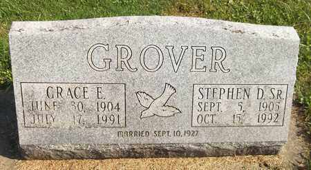 GROVER, STEPHEN D., SR. - Trumbull County, Ohio | STEPHEN D., SR. GROVER - Ohio Gravestone Photos