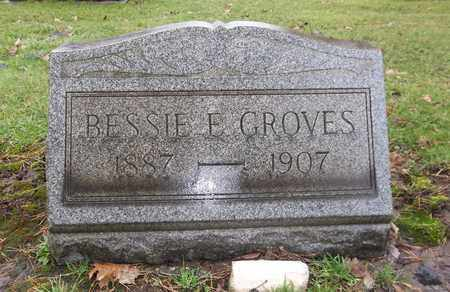 GROVES, BESSIE E. - Trumbull County, Ohio | BESSIE E. GROVES - Ohio Gravestone Photos