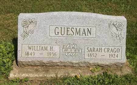 GUESMAN, WILLIAM H. - Trumbull County, Ohio | WILLIAM H. GUESMAN - Ohio Gravestone Photos