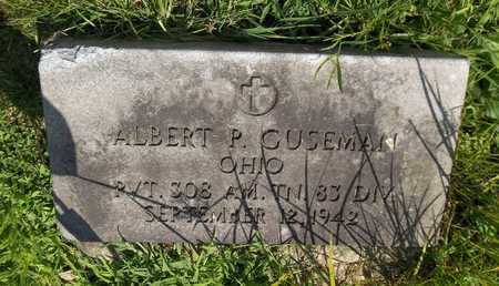 GUSEMAN, ALBERT P. - Trumbull County, Ohio | ALBERT P. GUSEMAN - Ohio Gravestone Photos