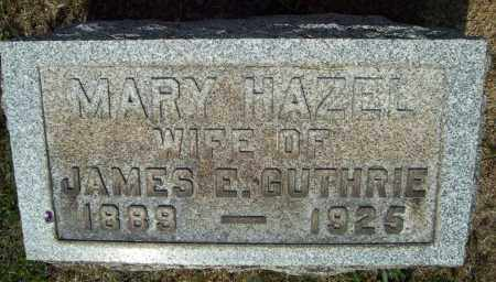 GUTHRIE, MARY HAZEL - Trumbull County, Ohio | MARY HAZEL GUTHRIE - Ohio Gravestone Photos