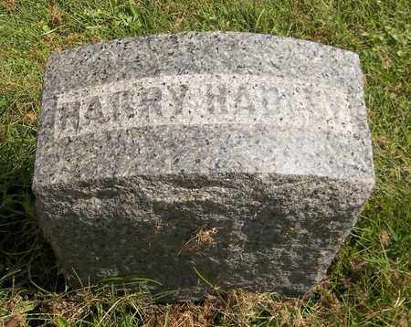 HADLEY, HARRY - Trumbull County, Ohio | HARRY HADLEY - Ohio Gravestone Photos