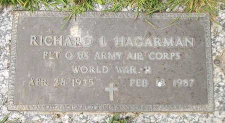 HAGARMAN, RICHARD L. - Trumbull County, Ohio | RICHARD L. HAGARMAN - Ohio Gravestone Photos