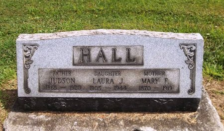 HALL, JUDSON - Trumbull County, Ohio | JUDSON HALL - Ohio Gravestone Photos
