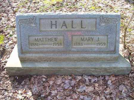 HALL, MARY JANE - Trumbull County, Ohio | MARY JANE HALL - Ohio Gravestone Photos