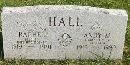 HALL, RACHEL - Trumbull County, Ohio | RACHEL HALL - Ohio Gravestone Photos